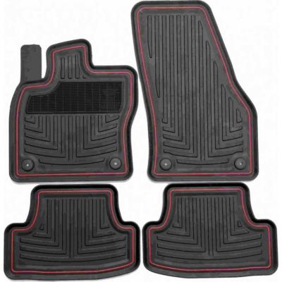 Volkswagen Golf VII VIII ( 2012-2019- ) / Seat Leon III IV (2013-2020-) magasperemű gumiszőnyeg Geyer&Hosaja