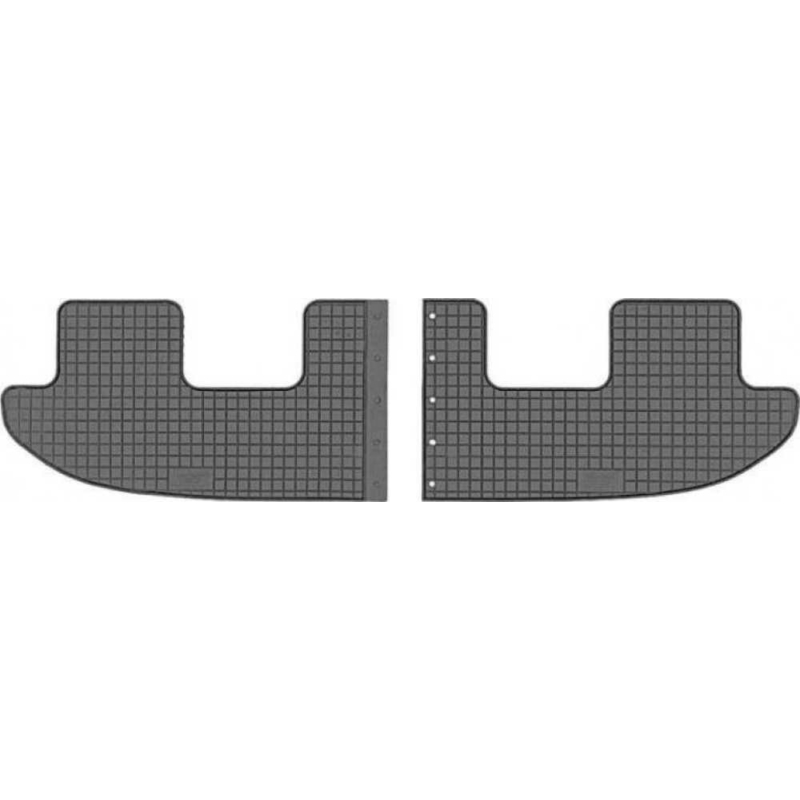 Seat Alhambra II / VW Sharan II ( 2010-, 3. sor ) gumiszőnyeg CikCar