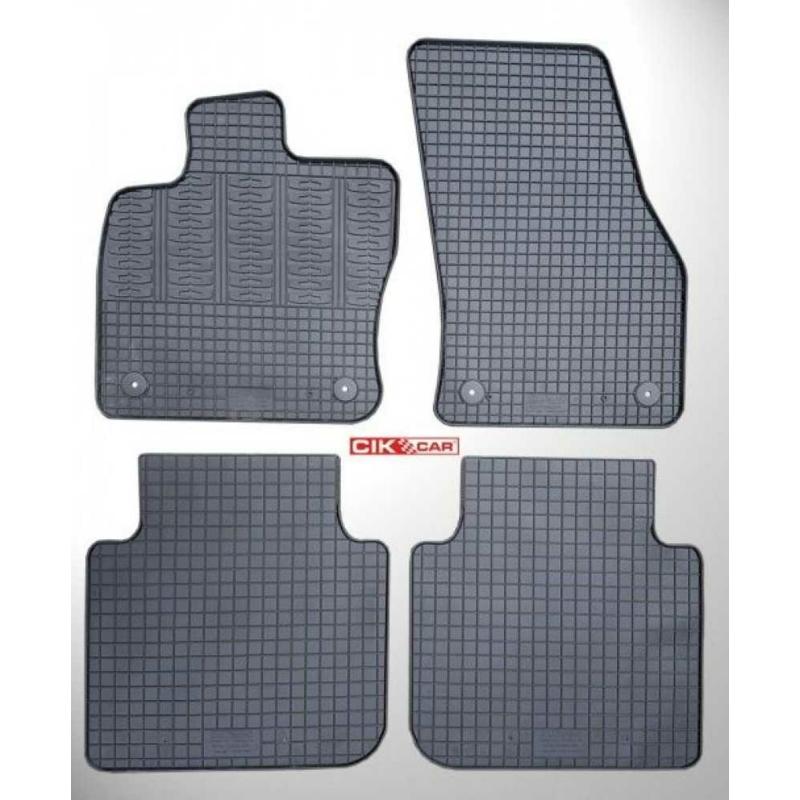 Skoda Kodiaq ( 2016- ) / Seat Tarraco ( 2018- ) / VW Tiguan Allspace ( 2017- ) gumiszőnyeg CikCar