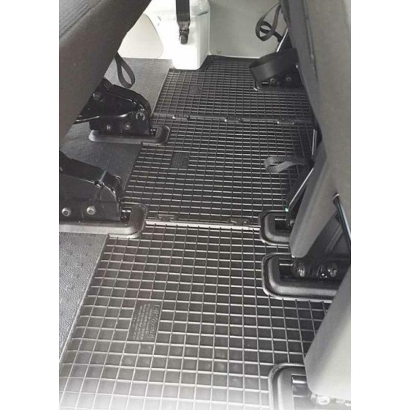 Volkswagen T5 Caravelle ( 2003-2015, 3.sor ) / T6 Caravelle ( 2015-, 3.sor ) gumiszőnyeg CikCar