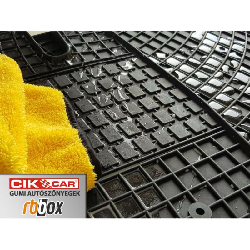 Fiat Doblo II ( 2009-2012, 5 szem. ) / Opel Combo ( 2012-, 5 szem.) gumiszőnyeg CikCar