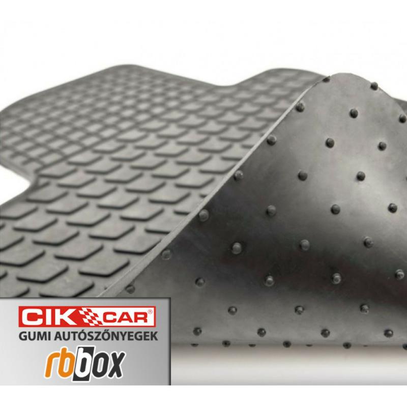 Dacia Dokker / Lodgy ( 2012-, 2 szem.) gumiszőnyeg CikCar