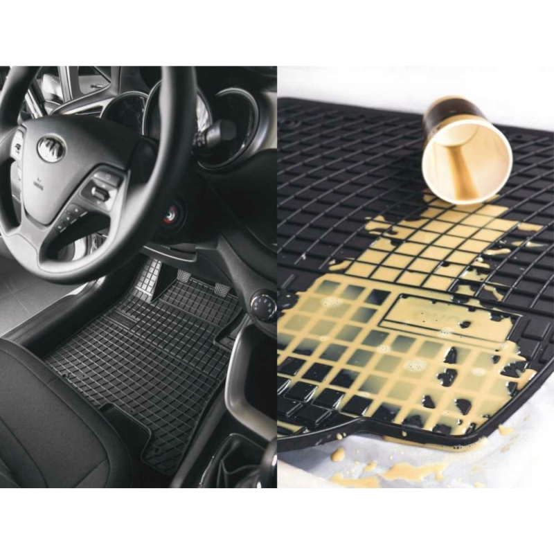 Fiat DOBLO I ( 2001-2010 ) gumiszőnyeg Frogum