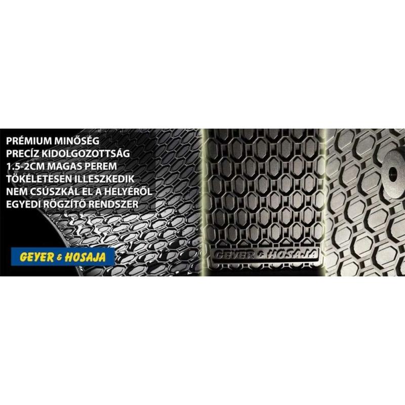 Skoda Octavia III-IV ( 2013- ) / Vw Golf Sportsvan, Vw Passat ( 2014- ) / Audi A3 8V ( 2012- ) gumiszőnyeg Geyer&Hosaja 815/4C