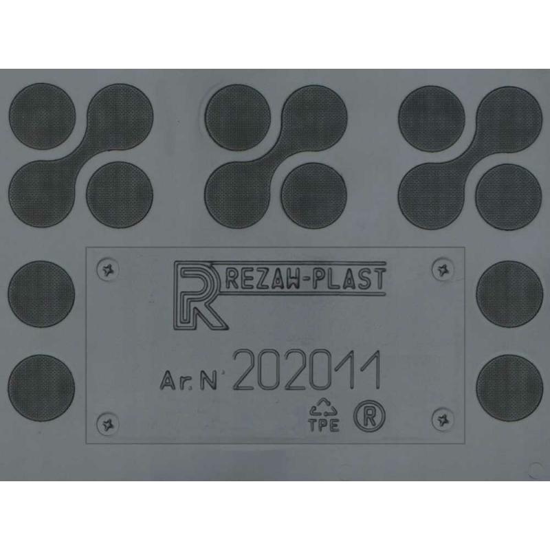 Seat Leon IV ( 2020- ) magasperemű gumiszőnyeg Rezaw-Plast