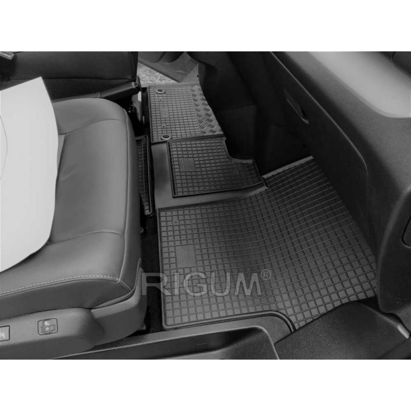 Toyota Proace Verso ( 2016- ) / PEUGEOT Traveller ( 2016- ) / Opel Zafira ( 2016- ) / Citroen Spacetourer ( 2016- ) gumiszőnyeg Rigum